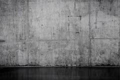 Mur en béton nu sale et lisse photographie stock