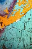 Mur en béton peint par texture Image stock