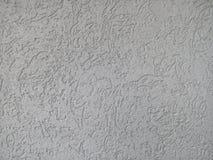 Mur en béton rayé Images libres de droits
