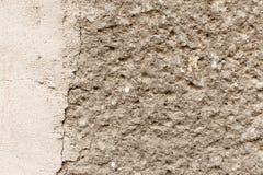 Mur en béton rocailleux Photographie stock libre de droits