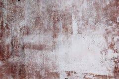 Mur en béton rouge avec le fond de texture d'égouttements photo libre de droits