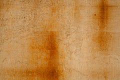 Mur en béton rouillé Image libre de droits