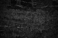 Mur en béton rugueux noir en tant que fond sinistre sombre image libre de droits