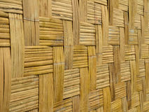 Mur en bambou Images stock