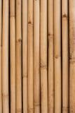 Mur en bambou Photos libres de droits
