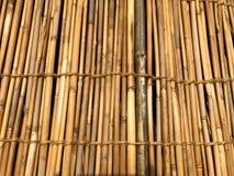 Mur en bambou japonais photo stock