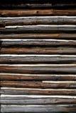 Mur en bois. Image libre de droits