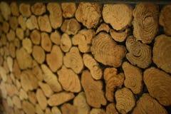 mur en bois antique Image stock