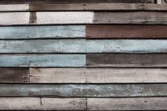 Mur en bois brouillé Photographie stock libre de droits