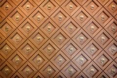 Mur en bois découpé photographie stock