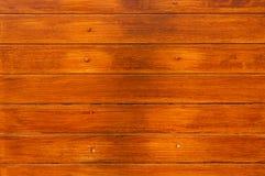 Mur en bois de Brown Photographie stock libre de droits