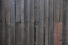 Mur en bois de cru Images libres de droits