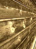 Mur en bois de cru Image stock