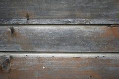 Mur en bois de cru de panneau photo libre de droits