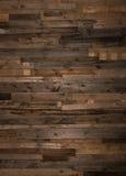 Mur en bois de fond Photos libres de droits