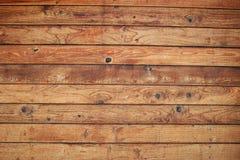 Mur en bois de panneau Photo libre de droits