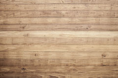 Mur en bois de planche de Brown Images libres de droits