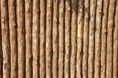 Mur en bois faux Photographie stock libre de droits