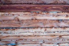 Mur en bois Fond en bois de configuration Images libres de droits