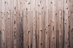 Mur en bois japonais antique utilisé pendant longtemps, la couleur naturellement Beauté à ceux qui voient photos libres de droits