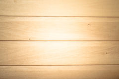 Mur en bois léger dans le sauna Texture de fond naturel toned Photo stock