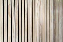 Mur en bois léger de planche Images libres de droits