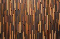 Mur en bois moderne de texture Images libres de droits