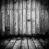 Mur en bois sale Images libres de droits