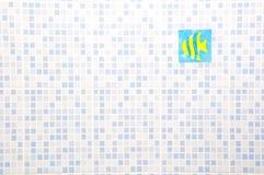 Mur en céramique Photo libre de droits