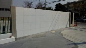 Mur en construction Photographie stock libre de droits
