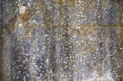 Mur en métal avec le ruban adhésif Photos stock