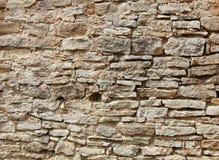 Mur en pierre. Photographie stock