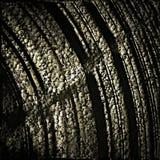 Mur en pierre antique décoré Photographie stock