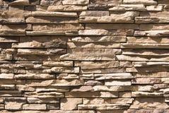 Mur en pierre artificiel Photos libres de droits