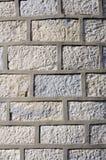Mur en pierre avec la fugue de ciment Images stock