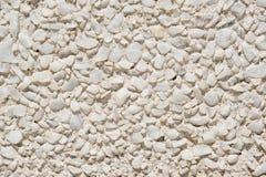 Mur en pierre blanc Photos libres de droits