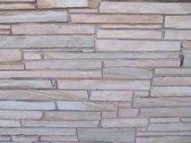Mur en pierre Blocky avec des pierres des différentes tailles 1 image stock