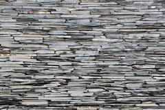 Mur en pierre d'ardoise photo libre de droits