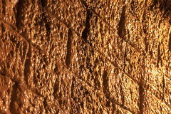 Mur en pierre dans un tunnel, Image libre de droits