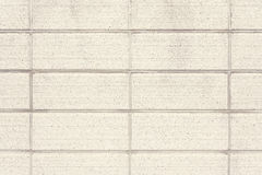 Mur en pierre de bloc Photos libres de droits