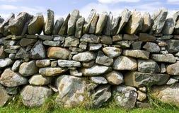 Mur en pierre de brame Photos libres de droits