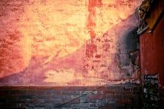 Mur en pierre de brique Images libres de droits