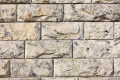Mur en pierre de Brown photos libres de droits
