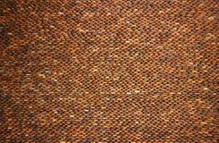 Mur en pierre de caillou Photographie stock