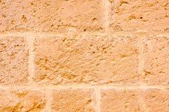 Mur en pierre de cathédrale d'Otranto Photographie stock libre de droits