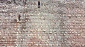 Mur en pierre de château Image stock