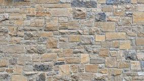 Mur en pierre de différentes couleurs et dimensions Illustration Stock