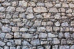 Mur en pierre de fond Photos stock