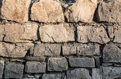 Mur en pierre de fond photographie stock libre de droits