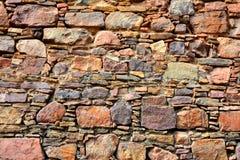 Mur en pierre de fort Photographie stock libre de droits